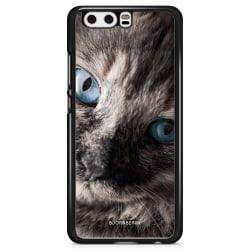 Bjornberry Skal Huawei P10 - Katt Blå Ögon