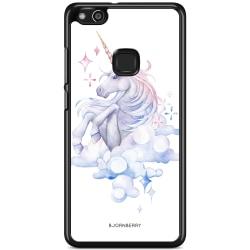 Bjornberry Skal Huawei P10 Lite - Vattenfärg Enhörning