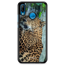 Bjornberry Skal Huawei P20 Lite - Sovande Leopard