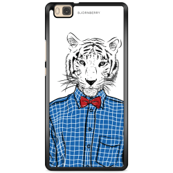 Bjornberry Skal Huawei P8 Lite - Hipster Tiger