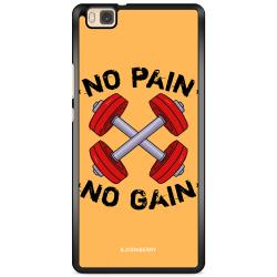 Bjornberry Skal Huawei P8 Lite - No Pain No Gain