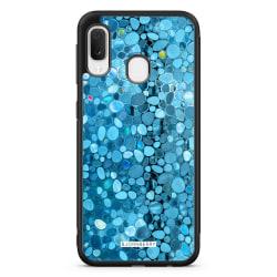 Bjornberry Skal Samsung Galaxy A20e - Stained Glass Blå