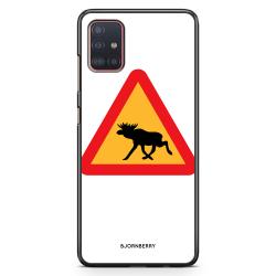 Bjornberry Skal Samsung Galaxy A51 - Älgskylt