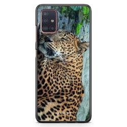 Bjornberry Skal Samsung Galaxy A51 - Sovande Leopard