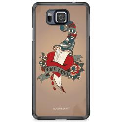 Bjornberry Skal Samsung Galaxy Alpha - One Love