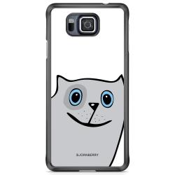 Bjornberry Skal Samsung Galaxy Alpha - Rolig Katt