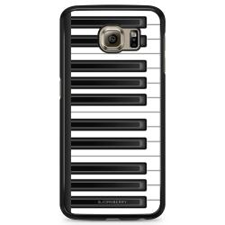 Bjornberry Skal Samsung Galaxy S6 Edge - Piano