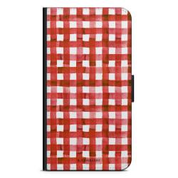 Bjornberry Xiaomi Redmi Note 7 Fodral - Röda Ränder