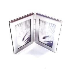 Dubbel Fotoram Authentics silver