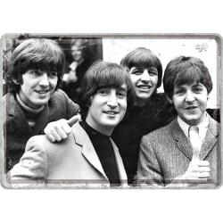 Vykort i plåt - Beatles