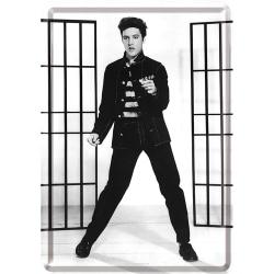 Vykort i plåt - Elvis Presley