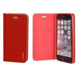 Flip Cover Fodral Xiaomi Redmi Note 8 Röd