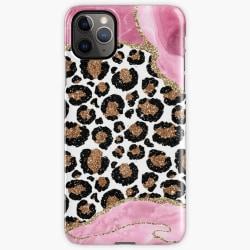 Skal till Samsung Galaxy A51 - Leopard Pink