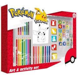 Pokemon Activity Set 67pcs – Aktivitetsuppsättning