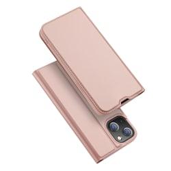 Dux Ducis Skin Pro Läderfodral iPhone 13 Rosa
