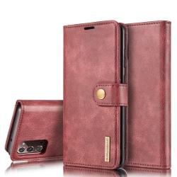DG.MING Plånboksfodral Med Magnet Galaxy Note 20 Röd