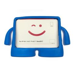 """iPad 9.7"""" (2017/2018) Stöttålig Cartoon Barnskal Blå"""