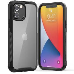 Stöttålig Edge Skal iPhone 12/12 Pro Svart