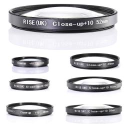 +10 MAKRO filter 40.5 - 58 mm. Välj storlek i listan! 49mm