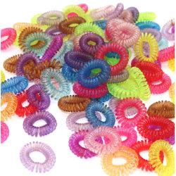 5-pack hårsnoddar hästsvans frisyr uppsatt  Mixade färger