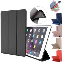 Alla modeller iPad fodral Air/Pro/Mini silikon smart cover case- Svart Ipad 2/3/4 från år 2011/2012 Ej Air