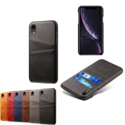 Iphone XR skal kort - Svart iPhone XR