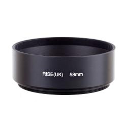 58 mm motljusskydd / standard lens hood svart