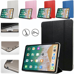 Alla modeller iPad fodral skal skydd tri-fold plast röd - Röd Ipad Air 1/2 & Ipad 9,7 Gen5/Gen6