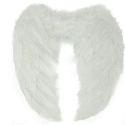 Änglavingar, vita till barn, en stl, dekoration maskerad vingar vit