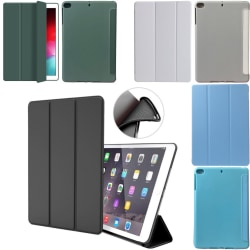Alla modeller silikon iPad fodral air/pro/mini smart cover case- Svart Ipad Air 1/2 & Ipad 9,7 Gen5/Gen6