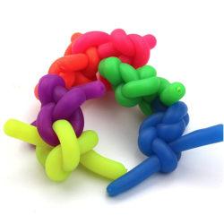 Elastisk finger leksak avstressande Neon, Fidget toys Flera olika färger