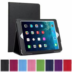 Enfärgat enkelt skal till iPad Air, iPad Air 2, iPad 5, iPad 6 - Svart Ipad Air 1/2 & Ipad 9,7 Gen5/Gen6