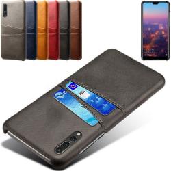 Huawei P20 Pro skal kort - Grå Huawei P20 Pro