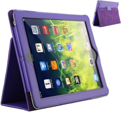 iPad 2/Ipad 3/Ipad 4 fodral - Lila hel Ipad 2/3/4