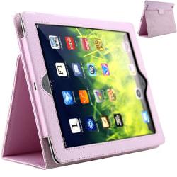 iPad 2/Ipad 3/Ipad 4 fodral - Rosa hel Ipad 2/3/4