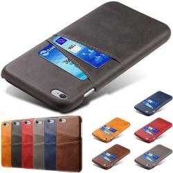 iPhone 6/6s plus skal kort - Svart iPhone 6+/6s+