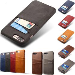 Iphone 7/8 Plus skal kort - Grå iPhone 7+/8+