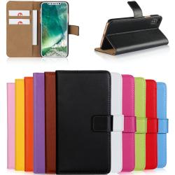 Iphone x/xs/xr/xsmax plånbok skal fodral - Svart Iphone XR