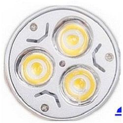 LED Lampa MR16 3100K silver 50 mm