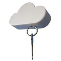 magnetisk nyckelhållare, färg vit hitta organisera nyckel moln Vit