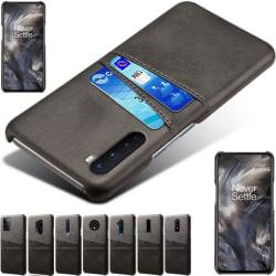 OnePlus 6/6T/7/7Pro/7T/7TPro/8/8T/8Pro skal kort fodral svart - Svart OnePlus 8 Pro