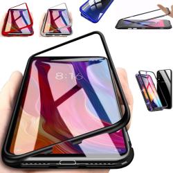 Qi magnet skal Samsung Galaxy Note8/Note9/J6 skydd fodral - Blå Note9