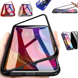 Qi magnet skal Samsung Galaxy Note8/Note9/J6 skydd fodral -  Svart Note9