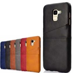 Samsung Galaxy J6 skal kort - Blå J6