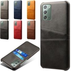 Samsung Galaxy Note20 skal kort - Svart Note20