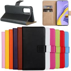 Samsung Galaxy S20/S20+/S20Ultra/S20FE plånbok skal fodral -  Röd S20