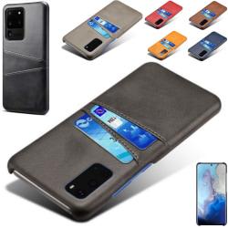 Samsung Galaxy S20 Ultra skal kort - Grå S20 Ultra