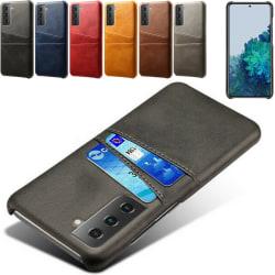 Samsung Galaxy S21 skal kort - Svart S21