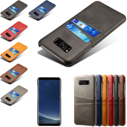 Samsung galaxy S8+ skal kort - Svart Samsung Galaxy S8+