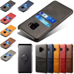 Samsung galaxy S9 skal kort - Grå Samsung Galaxy S9